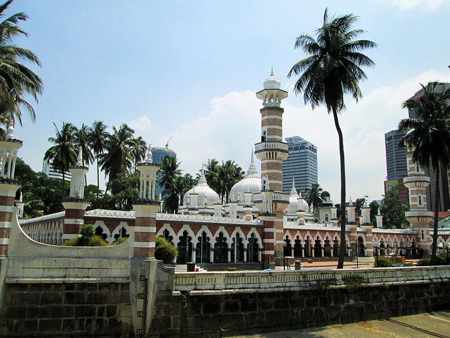 Islamic mosque in Kuala Lumpur.