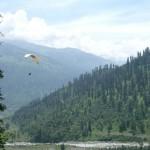 Johnny Ward Paragliding in the Himalayas