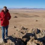 Johnny Ward in Mongolia.