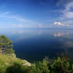 Beautiful Lake Baikal.