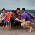 Johnny Ward sharing his travel photos
