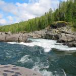Yenisei River in Tuva.