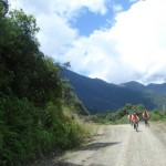 Yungas Highway, Bolivia.