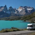 Pan American Highway Torres Del Paine, Chile.