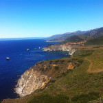 Pacific Coast Highway in California at Big Sur.