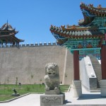 Temple along the ancient Silk Road.