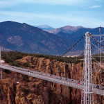 Royal Gorge Bridge, Colorado.