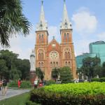 Notre Dame Cathedral in Ho Chi Minh City.
