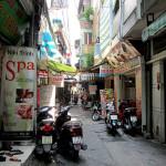 Back streets of Pham Ngu Lao, Ho Chi Minh CIty.