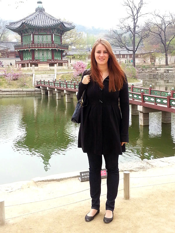 Morgan Sullivan of A Beautiful View in Seoul, Korea.