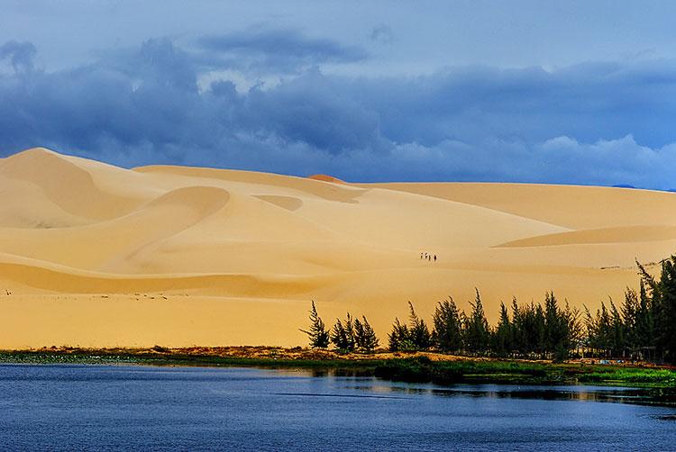Sand dunes of Mui Ne, Vietnam.