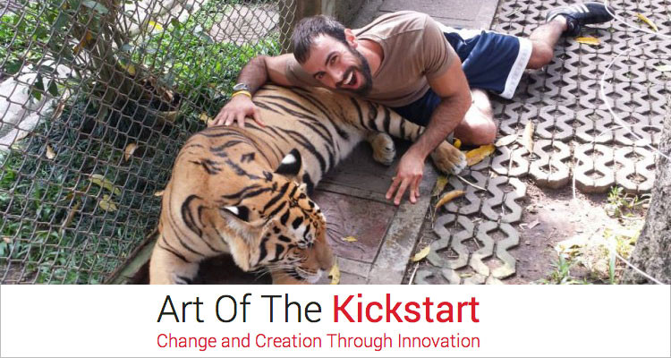 Matt Ward, Art of the Kickstart.