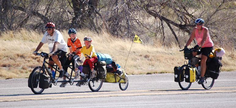Nancy Sathre-Vogel, Family on Bikes