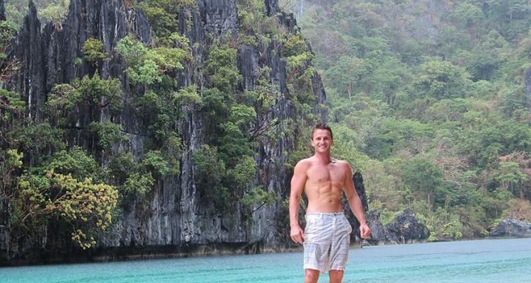 Danny Flood at El Nido, Philippines