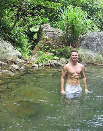 Taiwan hot springs.