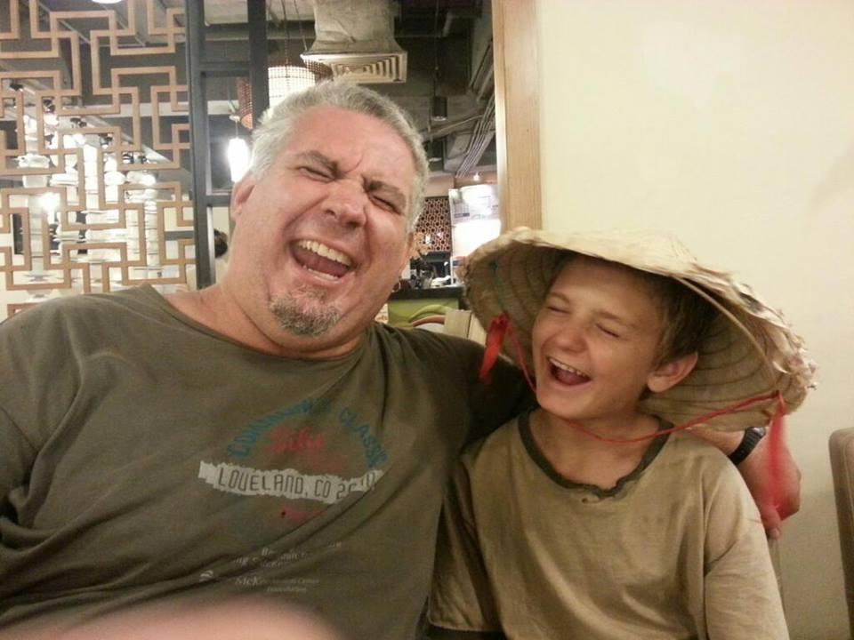 Talon Windwalker, 1 Dad 1 Kid