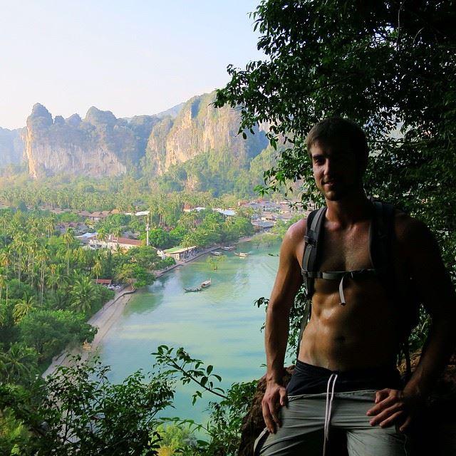 Grant Weherley at Krabi, Thailand.