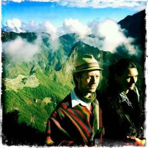 Michael Costuros at Macchu Picchu.