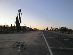 Nighttime in Catavina, Baja California.