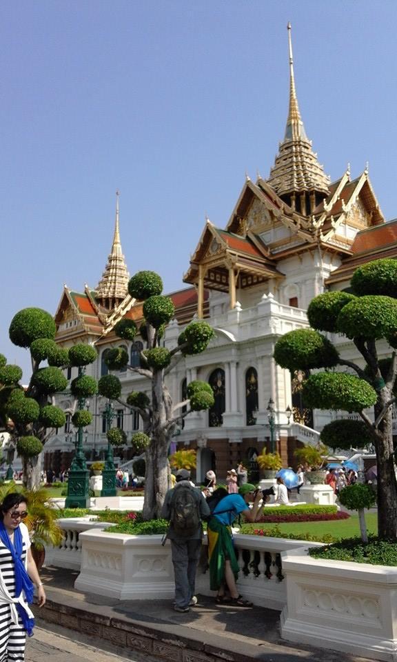 Buddhist Temple in Bangkok.