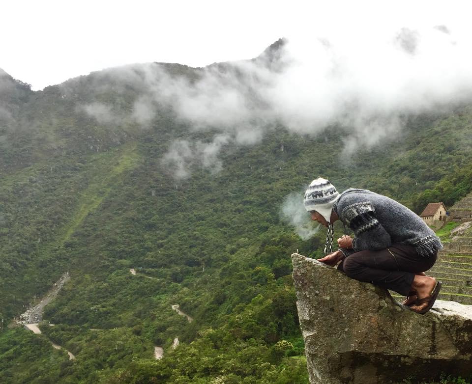 Justin Alexander at Machu Picchu
