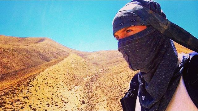 Justin Alexander in Upper Mustang, Nepal.