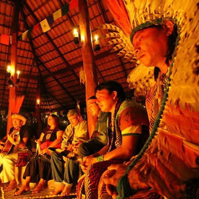 Ayahuasca ceremony in Brazil