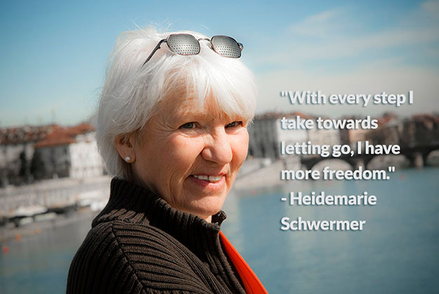 Heidemarie Schwermer is inspiring the world through her travels without money.