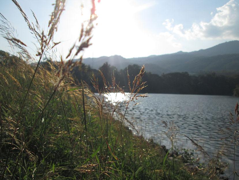Angkaew Lake in Chiang Mai University
