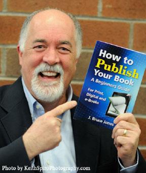 Bruce the Book Guy Jones, self-publishing expert on Amazon.