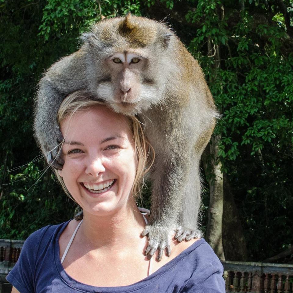 Danielle Werner, traveling globetrotter.