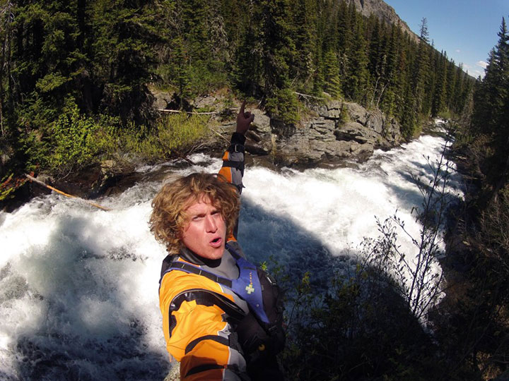 Tyler Bradt, kayaker and adventurer.