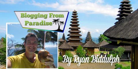 Ryan Biddulph, Blogging from Paradise.