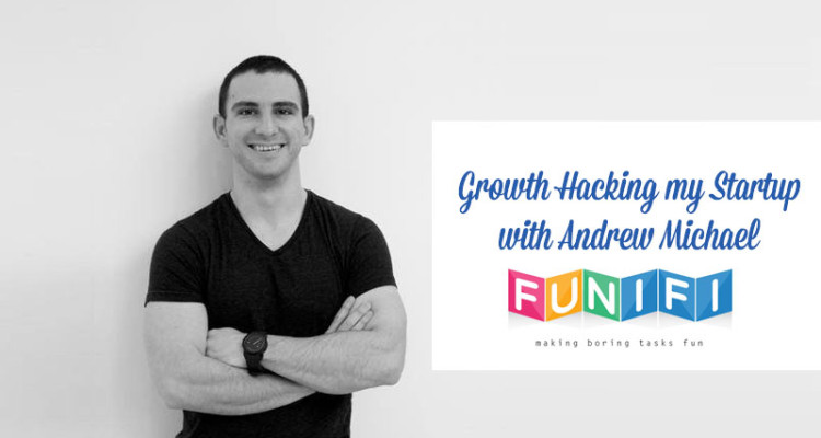 Podcast interview about growth hacking with Andrew Michael