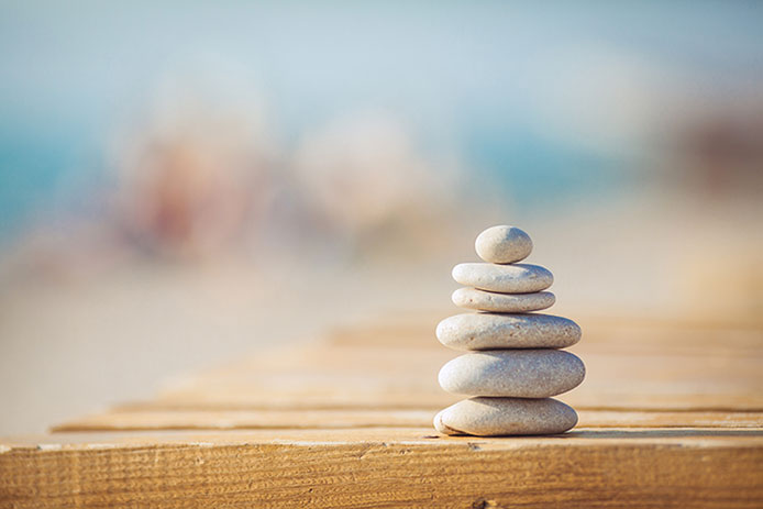 Zen calmness