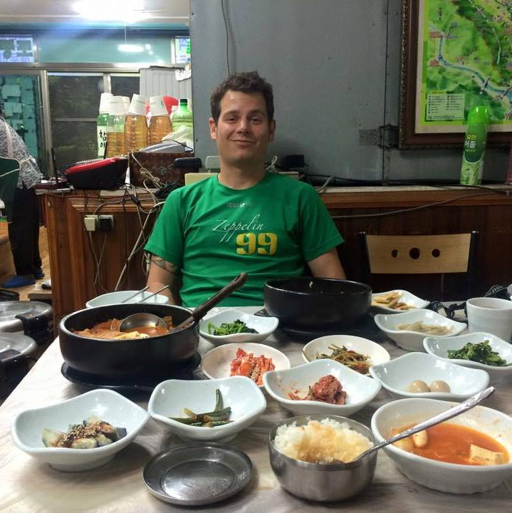 Daniel Benner, English teacher in Korea from Seattle, Washington.