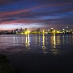 View of Bangkok from Bang Kachao.