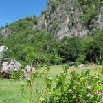 Park in Cha-Am, Thailand.