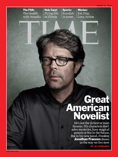 Jonathan Franzen, the Great American novelist, who disables wifi on his machine.