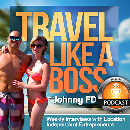 Johnny FD, of Travel Like a Boss, talks to OpenWorld.