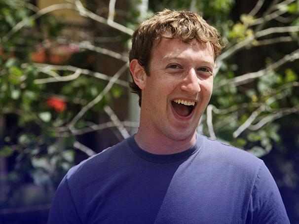 Mark Zuckerberg, Silicon Valley entrepreneur.