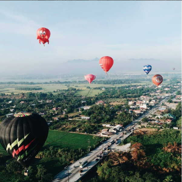Balloons in Lubao, Pampangas