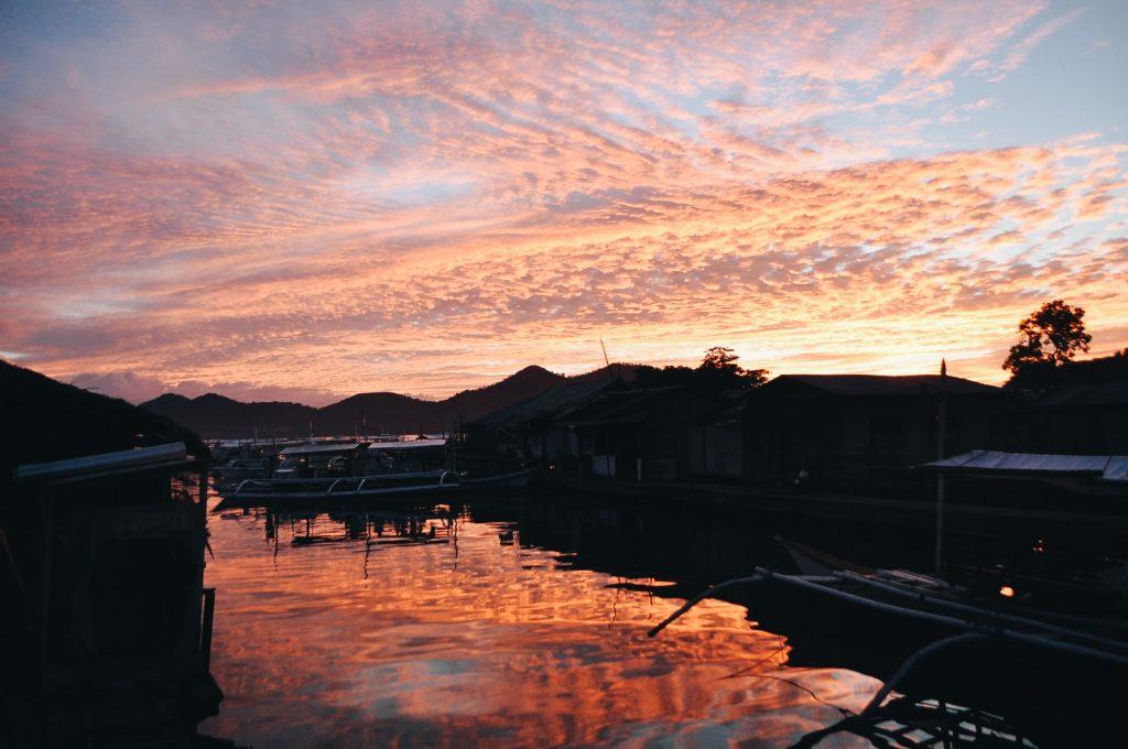 Sunset in Coron, Palawan, Philippines