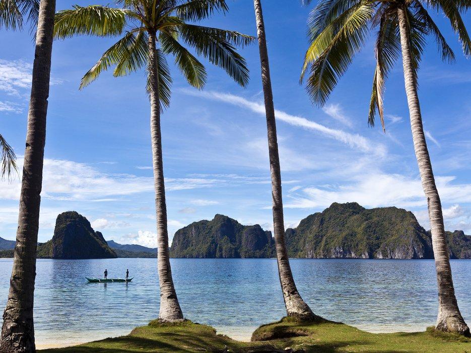 Beautiful island of Palawan, Philippines