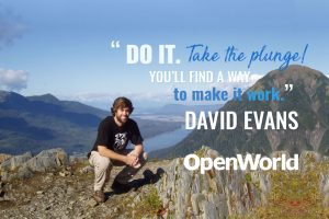 David Evans, founder of Handmade SEO, in Alaska.