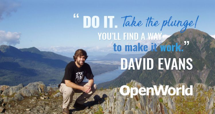 David Evans, founder of Handmade SEO, in Alaska.