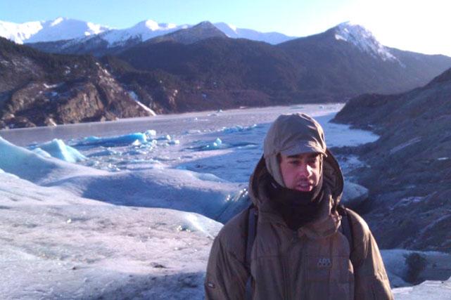 David Evans in Alaska.