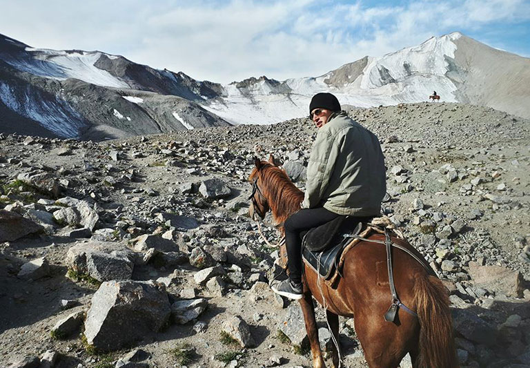 Damiaan Reijnaers, world nomad.