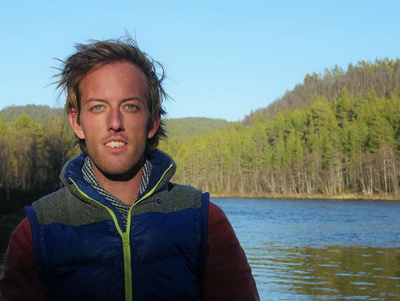 Gregoire Mevel, global adventurer.