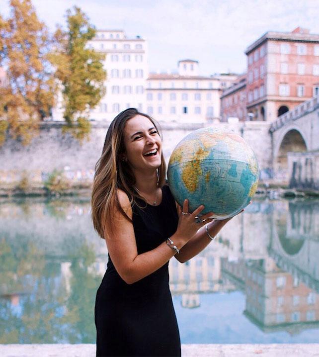 Celinne Da Costa, world nomad.